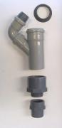 AIR Anschluss-Set DN70 für 50/60/63/75 mm Abwasserschlauch (z.B. Nidek, Briot, HUVITZ, INDO)